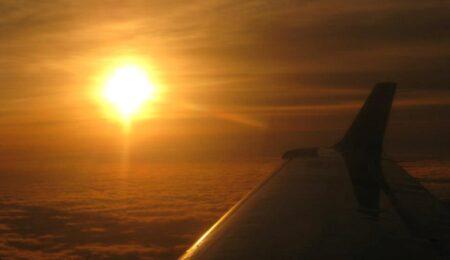 airplane-sunrise