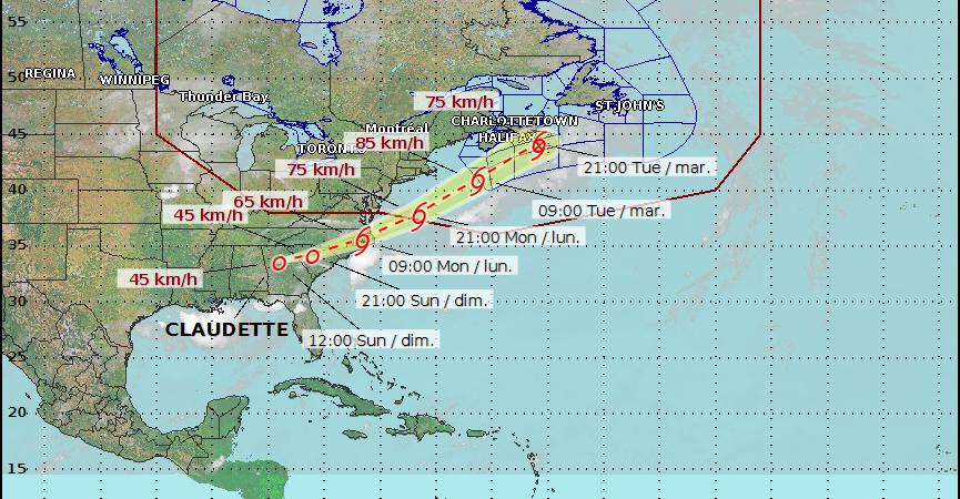 Claudette飓风